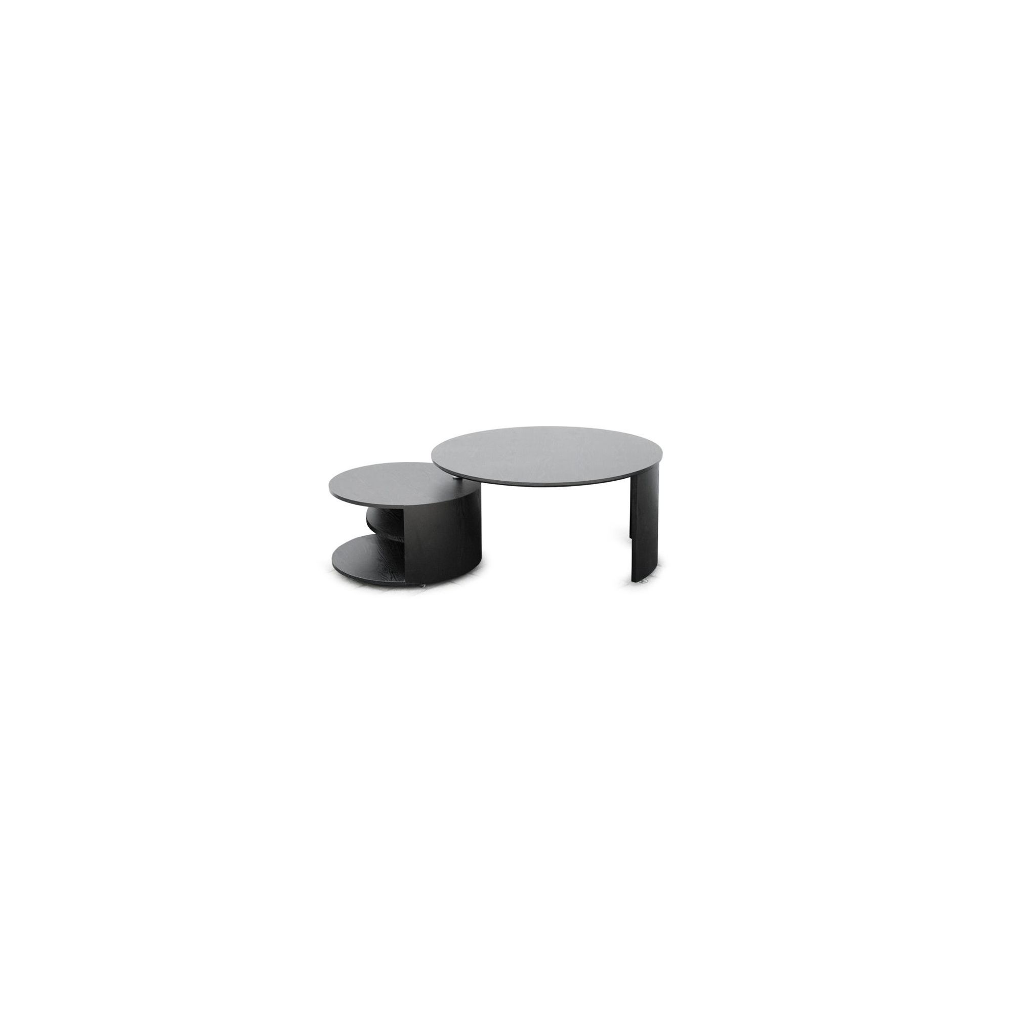 RGE Katrin Coffee Table - Lacquer High-Gloss Black at Tesco Direct