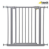 Hauck Trigger Lock Metal Pressure Fix Safety Gate - Silver