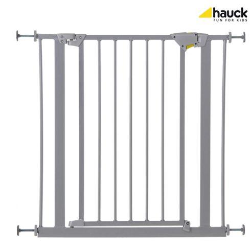 Hauck Trigger Lock Metal Pressure Fix Safety Gate - Silver