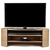 Tom Schneider Elliptic 1250 Oak TV Stand