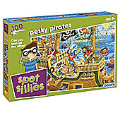 Pesky Pirates Spot the Sillies 100-Piece Puzzle