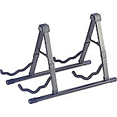 Rocket Acoustic/Electric Guitar Stand for 2 Guitars