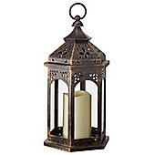 Outside-In Moroccan Battery-Operated Lantern