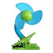 NScessity Clip Fan Blue and Green