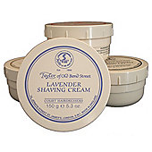 Taylor of Old Bond St Shaving Cream Lavender Tub 150g