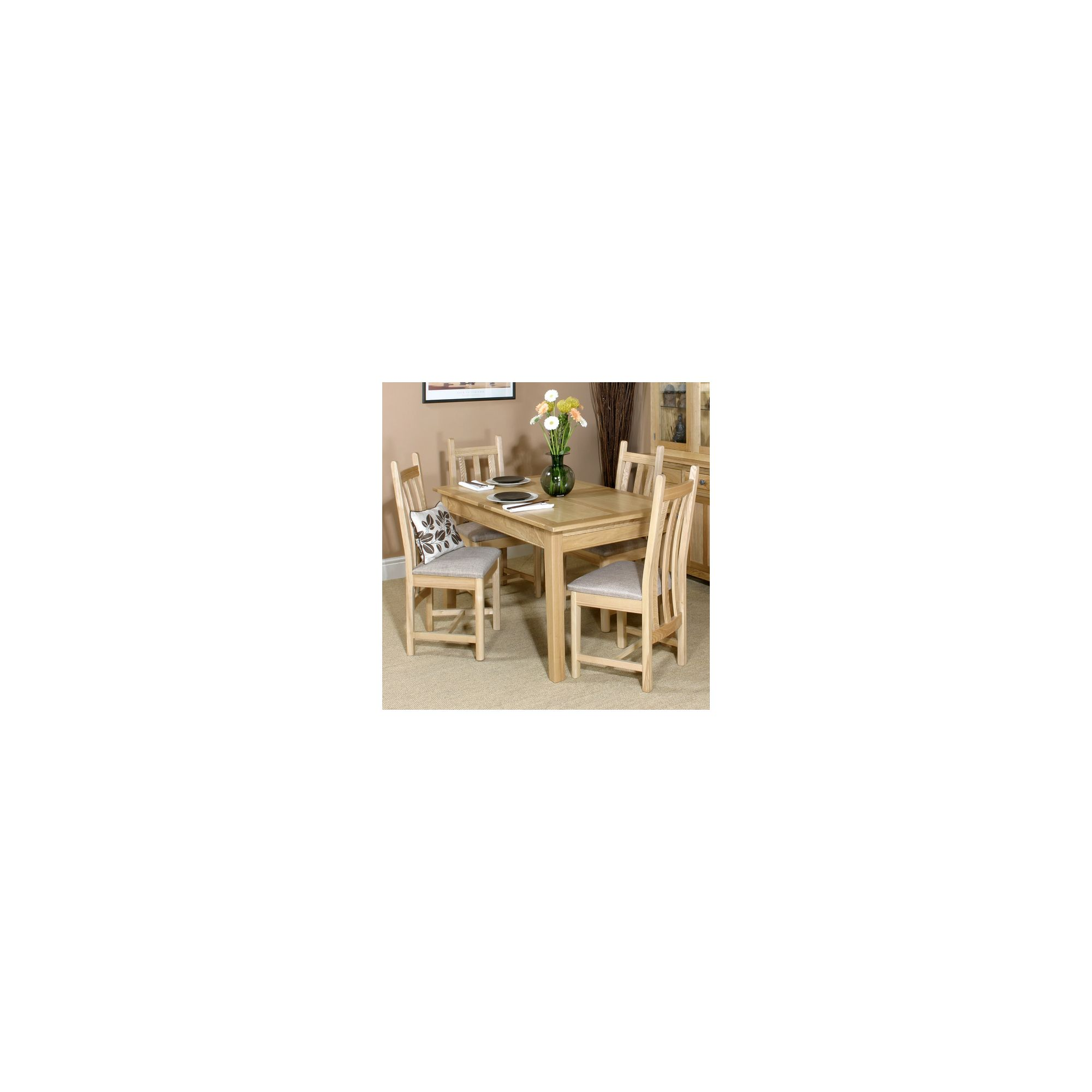 Other Old Charm Hertford 5 Piece Extending Dining Table Set