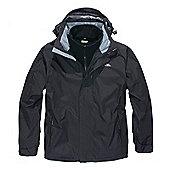 Trespass Mens Maker 3in1 Jacket - Black