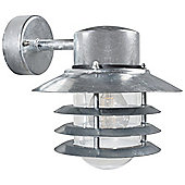 Nordlux Vejers Down Wall Light - Galvanized Steel