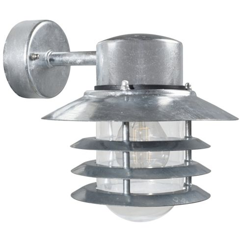 Buy Nordlux Vejers Down Wall Light - Galvanized Steel from our Outdoor Lanterns range - Tesco