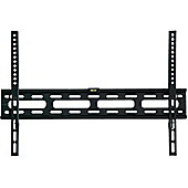 Black Universal Super Thin Fixed Wall Mount Bracket up to 55 inch