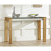 Mark Harris Roma Oak Console Table