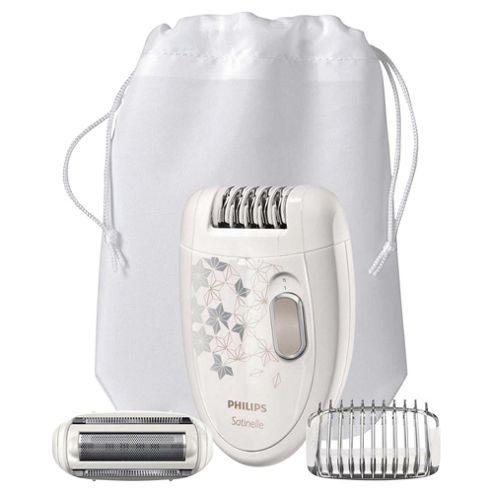 Philips Satinelle Corded Epilator HP6423/00 with Ladyshave Head Plus Trimming Comb