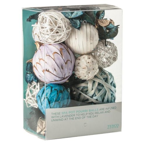 Tesco Pure Spa Pot Pourri Balls