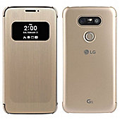 Official LG G5 Mesh Quick Cover Case Cover Gold