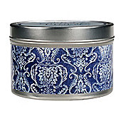 Greenleaf Classic Linen Tin Tealight Candle