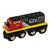 Bigjigs Wooden Railway CN Engine Train