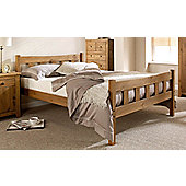 ValuFurniture Hand Made Solid Wood Shaker Style Bed Set - Double 4ft6