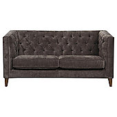 Chartwell Medium 2 Seater Sofa Chenille Nutmeg