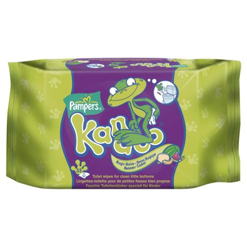 Pampers Kandoo Toilet Wipes Melon 55Pk