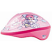 KIDZAMO GIRLS BIKE HELMET JNR BELLA 46/52 PINK