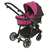 Kiddy Click n Move 3 Carrycot (Pink)