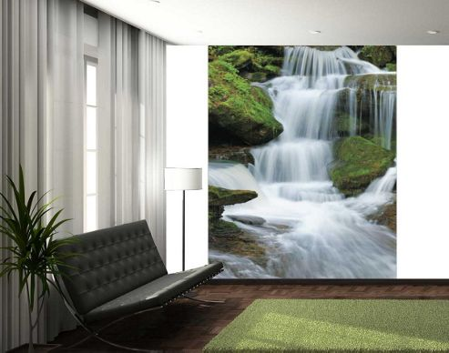 Buy 1wall waterfall wall mural from our wallpaper range for 1wall forest wallpaper mural