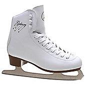 SFR Galaxy Ice Skates - White - Junior UK 11 - White