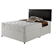 Silentnight Miracoil Comfort Micro Quilt Non Storage Divan, Small Double