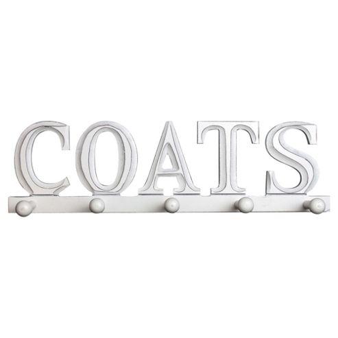 Vintage Coat Word Hooks