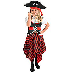 Child Girl Pirate Costume Small