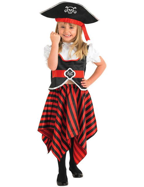 Buy Child Girl Pirate Costume From Our All Fancy Dress