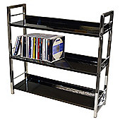 Brooklyn - 3 Tier Shelf Unit / Bookcase - Black