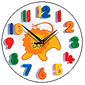 Smith & Taylor Friendly Lion Children's Wall Clock