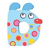 Tatiri Crazy Animals Letter D (Blue Dog)