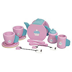 Carousel Wooden Tea Set