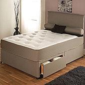 Vogue Beds Memory Touch Pocket Utopia 1500 Platform Divan Bed - Super King / Without Drawer