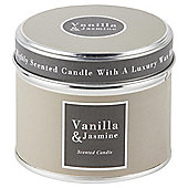 Vanilla and Jasmine Candle in a Tin