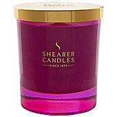 Shearer Candle Jar With Gold Lid, Oriental Poppy