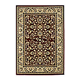 Oriental Carpets & Rugs Heritage 0993A Red Rug - 80cm x 140cm