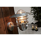 Nordlux Agger Wall Light - Galvanized Steel