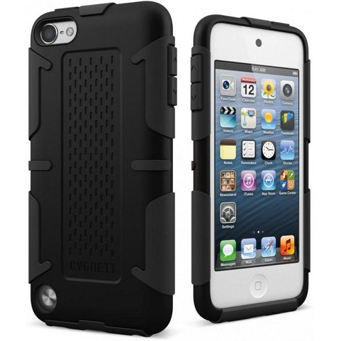 Cygnett Workmate Pro Shock Case - Black For Ipod Touch