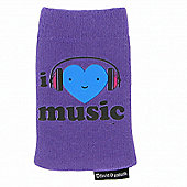 Kondor Heart Noggins sock - Music