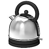 Tesco TK12 Traditional Kettle - Stainless Steel