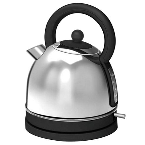 buy tesco tk12 traditional kettle stainless steel from. Black Bedroom Furniture Sets. Home Design Ideas