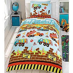 Under Construction, Boys Single Bedding