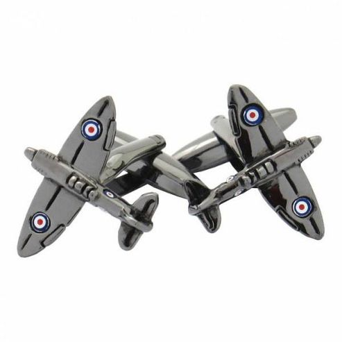 Maze Fighter Plane Cufflinks
