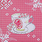 Artistic Britain Rose Teacup by Libby McMullin Wall Art