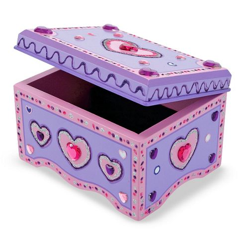 Decorate Your Own Wooden Jewellery Box - Melissa Doug
