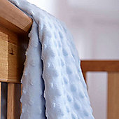 Clair de Lune Dimple Pram Blanket (Blue)
