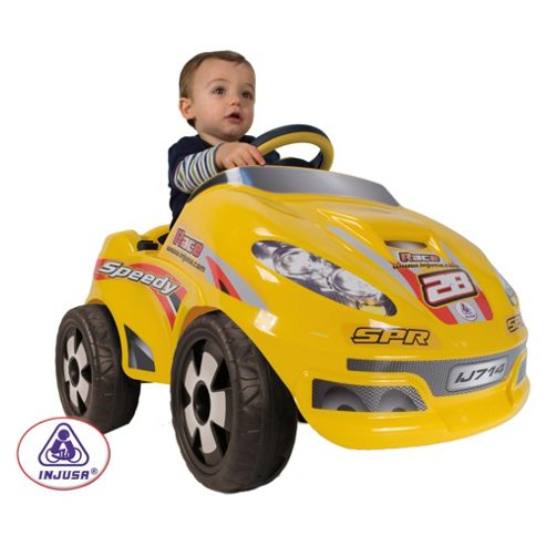 Injusa Speedy Racecar Battery Operated Ride-On